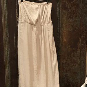 Gap sleeveless maxi dress